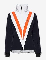 J. Lindeberg Ski - W Wrangell Jkt-Dermizax EV 2L - insulated jackets - juicy orange - 2