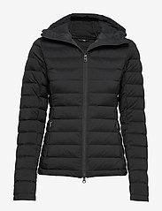 J. Lindeberg Ski - W Ease Hooded Liner-JL Down - untuvatakit - black - 0