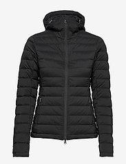 J. Lindeberg Ski - W Ease Hooded Liner-JL Down - untuvatakit - black - 1