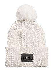 Ball Hat Wool Blend - WHITE