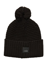 Ball Hat-Wool Blend - BLACK