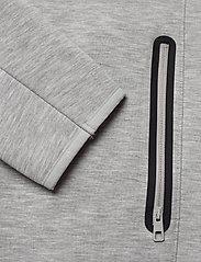 J. Lindeberg Ski - Logo Hood-Tech Sweat - hupparit - stone grey melange - 3