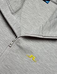 J. Lindeberg Ski - Nigel Mid Jkt Logo Capsule-Tec - overdeler - stone grey melange - 2