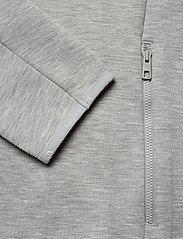 J. Lindeberg Ski - Nigel Mid Jkt Logo Capsule-Tec - overdeler - stone grey melange - 3