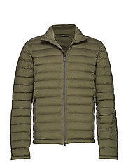 M Ease Sweater-JL Down - FOREST GREEN