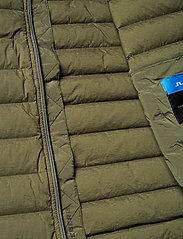 J. Lindeberg Ski - M Ease Sweater-JL Down - ski jackets - forest green - 7