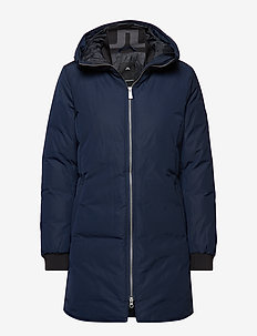 W Radiator Parka Dress Poly - JL NAVY