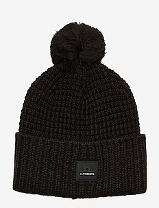 Ball Hat-Wool Blend - BLACK