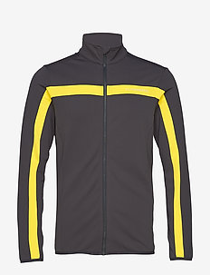 Kimball Jarvis Jacket-Brushed - track jackets - banging yellow
