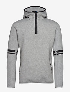 Logo Hood-Tech Sweat - STONE GREY MELANGE