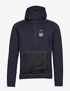 Bute Hood-Tech Sweat - JL NAVY