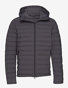 M Ease Hooded Liner-JL Down - dunjakker - asphalt black