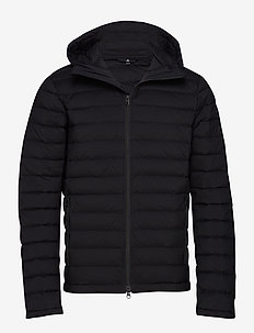 M Ease Hooded Liner-JL Down - down jackets - black