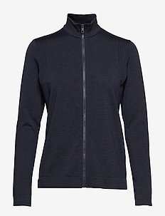 Gamon-Seamless Mid - bluzy i swetry - navy melange