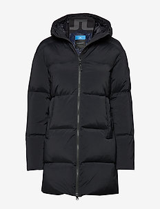 W Radiator Down Parka-Down Nyl - down jackets - black