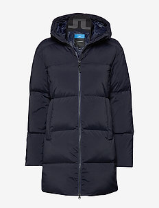 W Radiator Down Parka-Down Nyl - down jackets - jl navy
