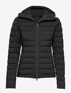 W Ease Hooded Liner-JL Down - down jackets - black