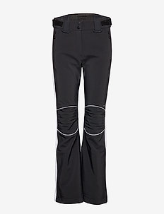 W Stanford Striped Pts-JL Soft - softshell pants - black