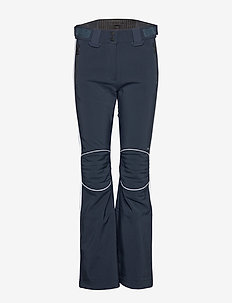 W Stanford Striped Pts-JL Soft - softshell pants - jl navy