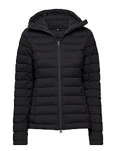 W Ease Hooded Liner JL Down - BLACK