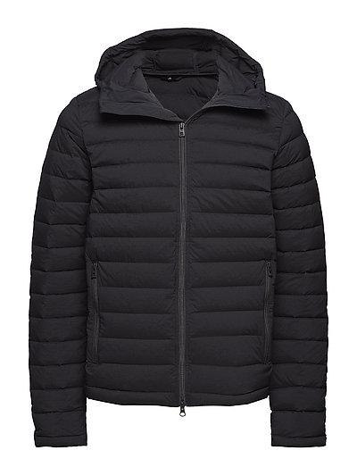 M Ease Hooded Liner JL Down - BLACK