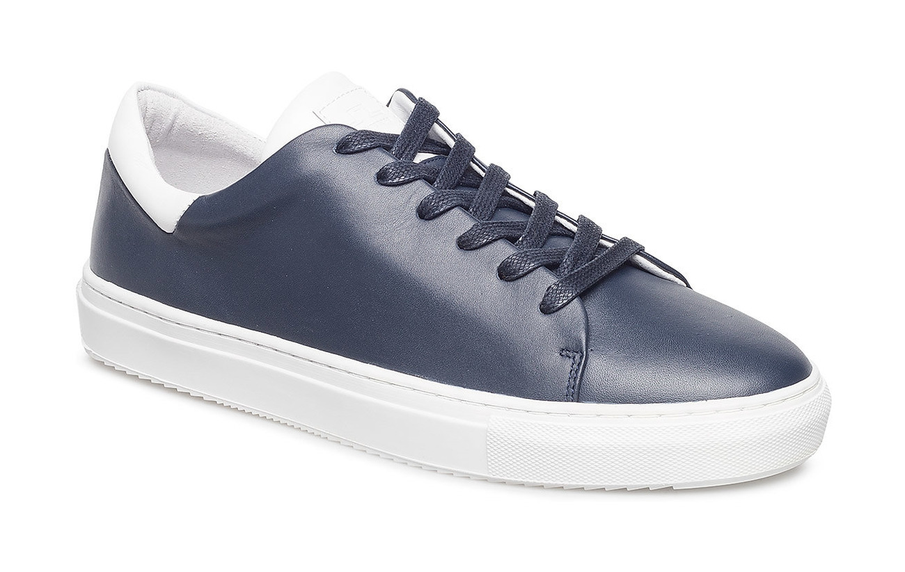 J. Lindeberg Sneaker LT block Italian Calf - JL NAVY