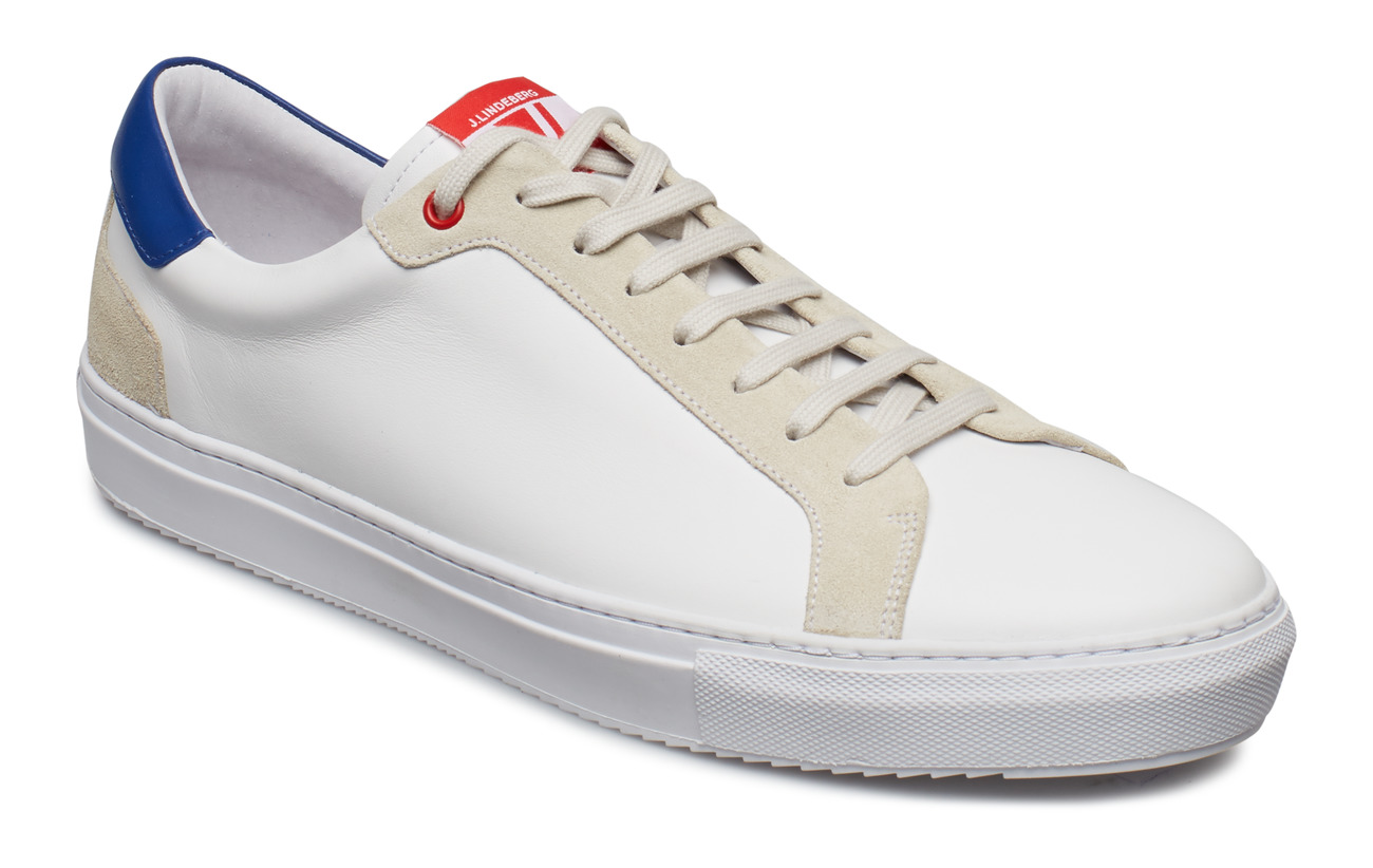 J. Lindeberg Sneaker Mix Calf - WORK BLUE