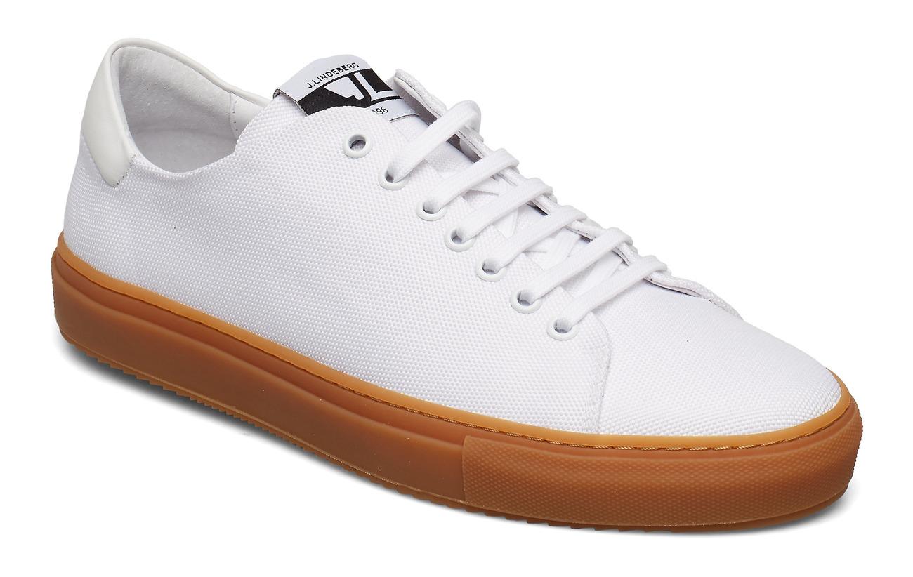 J. Lindeberg Sneaker Axl Canvas - WHITE
