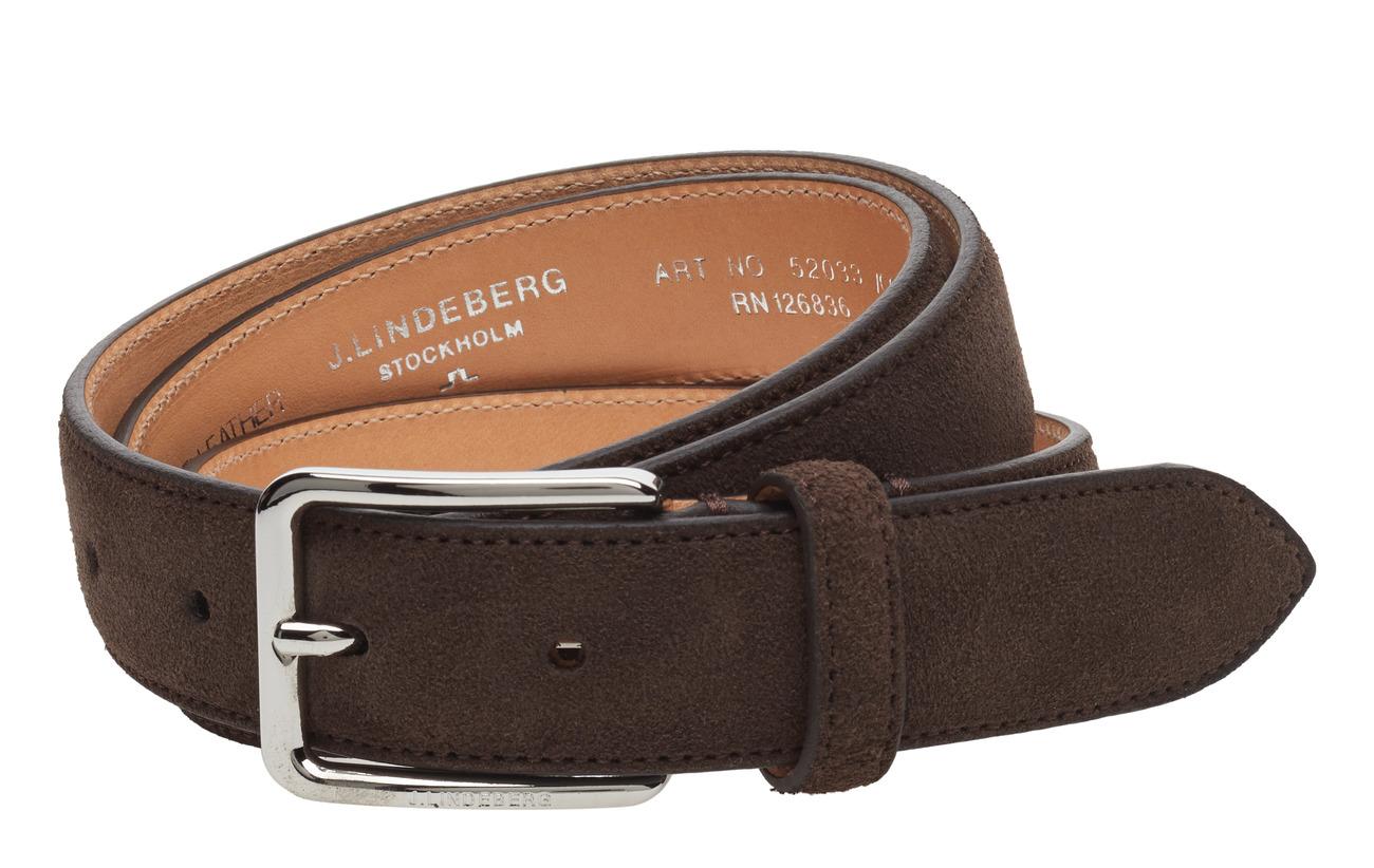 52033 Cow Suededark BrownJLindeberg belt S GjLUMqSzVp