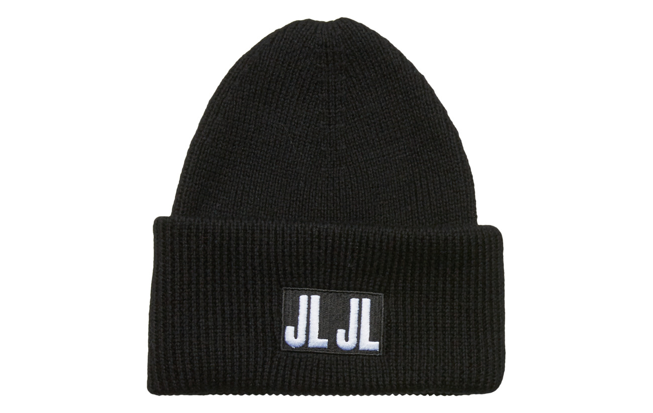 J. Lindeberg Jive Beanie-Spongy Wool - BLACK