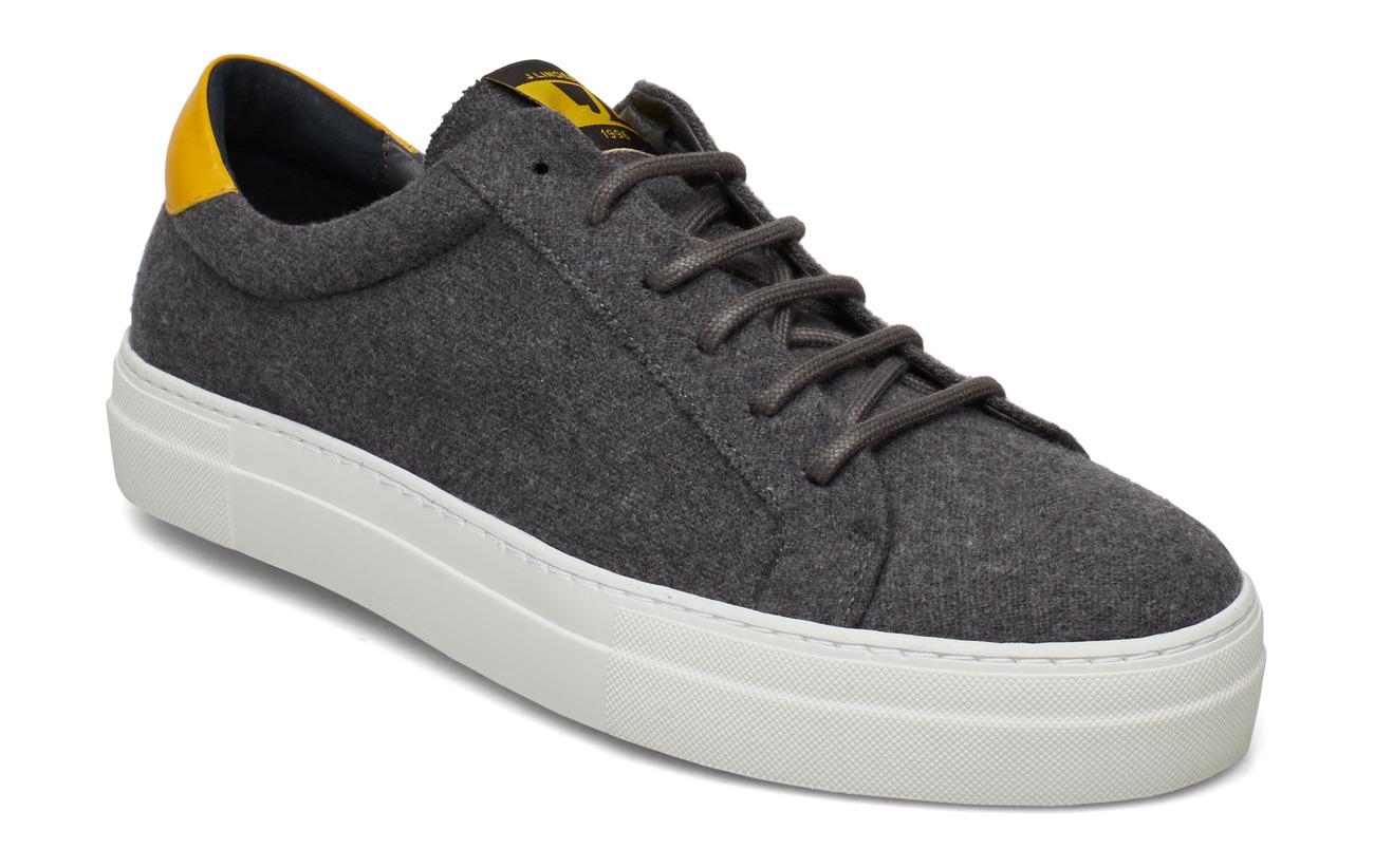 J. Lindeberg LT Sneaker-Flannel Wool - GREY MELANGE