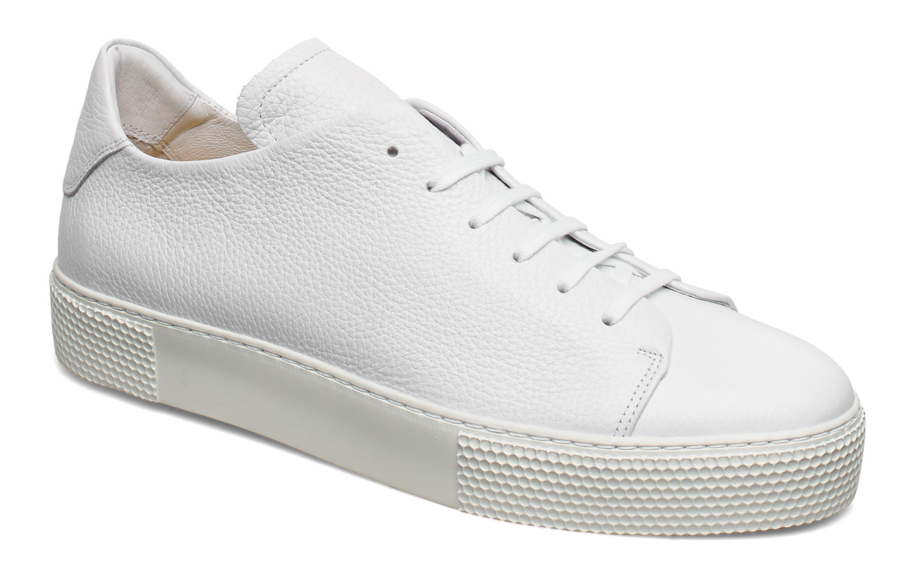 J. Lindeberg Sneaker LT Clean-Leather Grain - WHITE