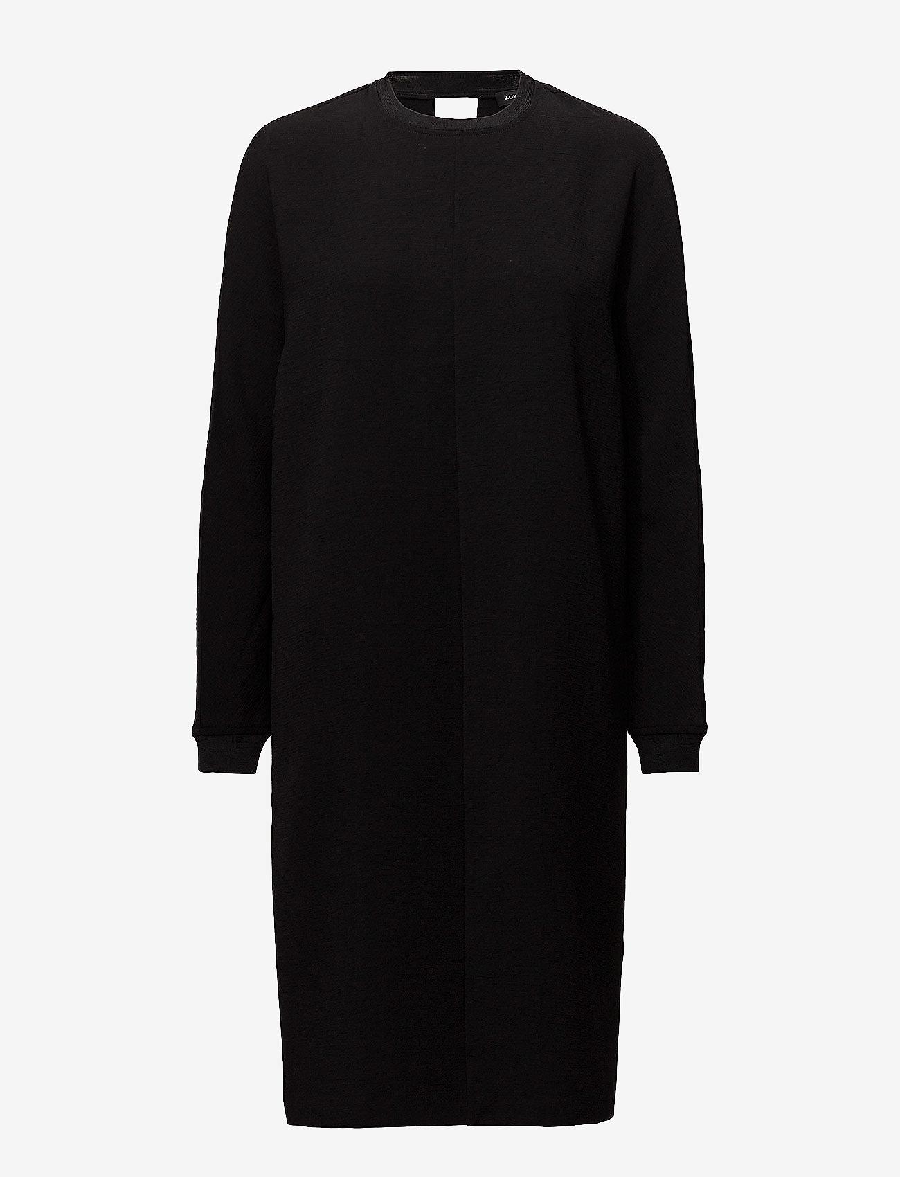 J. Lindeberg - Noelle Lux Structure - midi dresses - black - 0