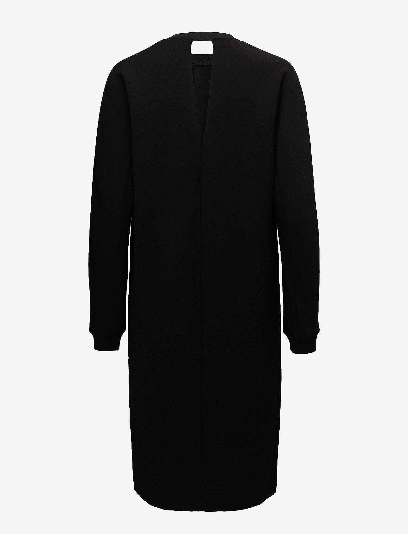 J. Lindeberg - Noelle Lux Structure - midi dresses - black - 1