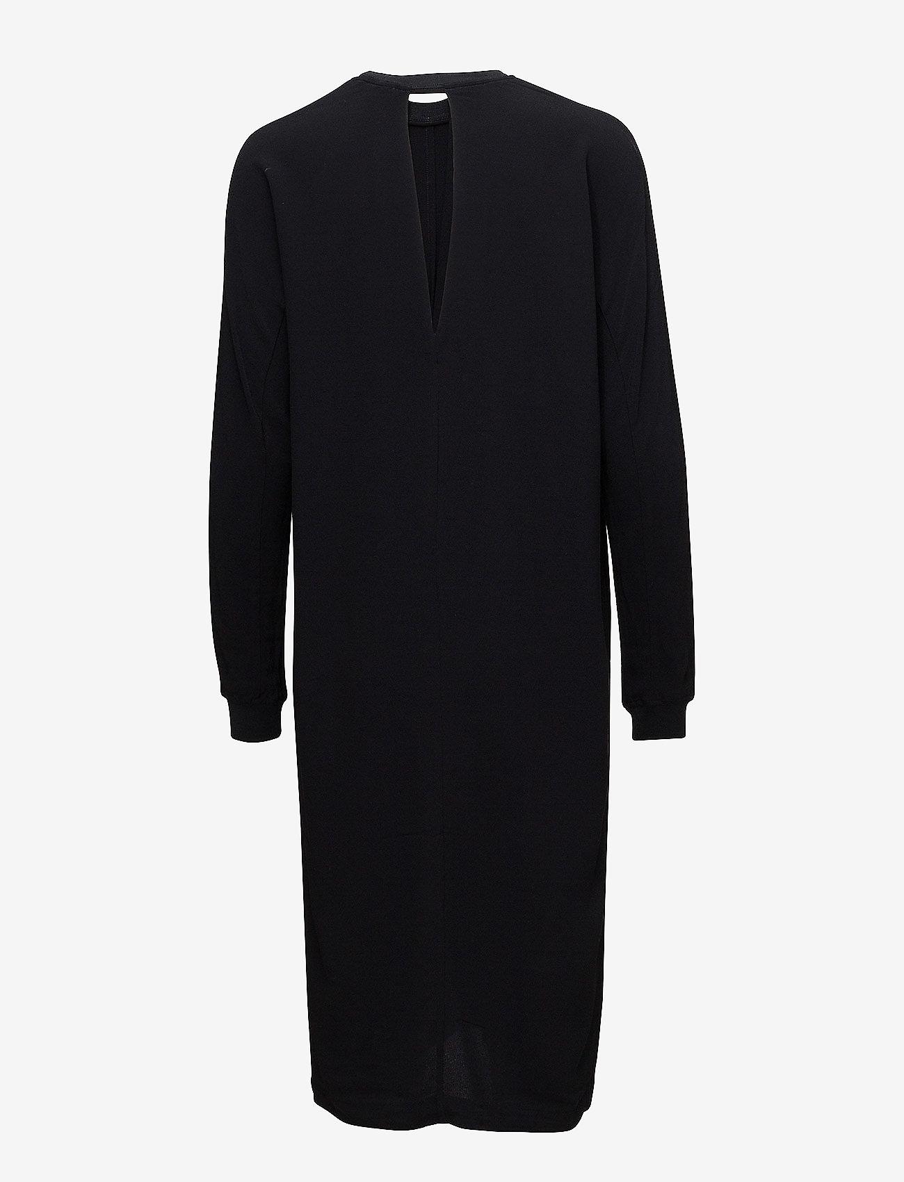 J. Lindeberg Noelle Drapy Crepe - Dresses BLACK