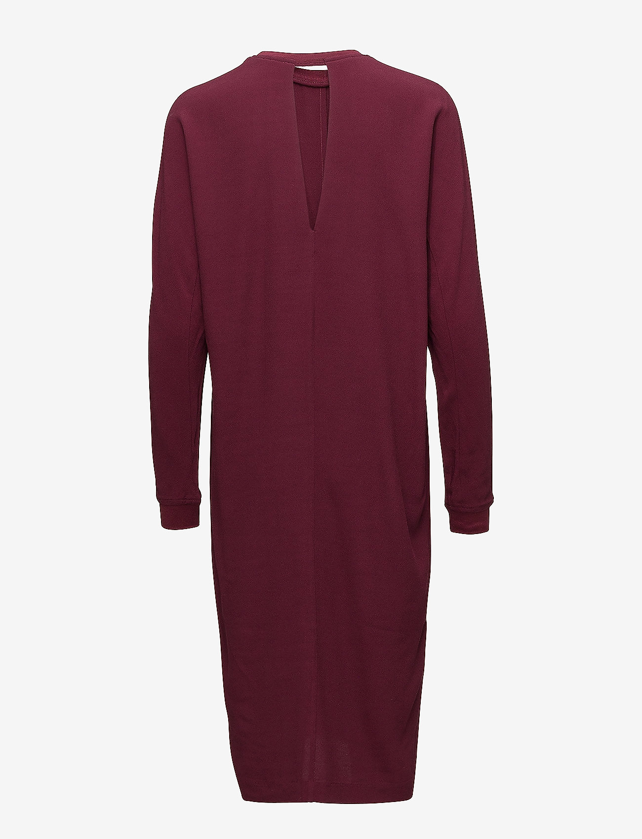 J. Lindeberg - Noelle Drapy Crepe - short dresses - burgundy - 1