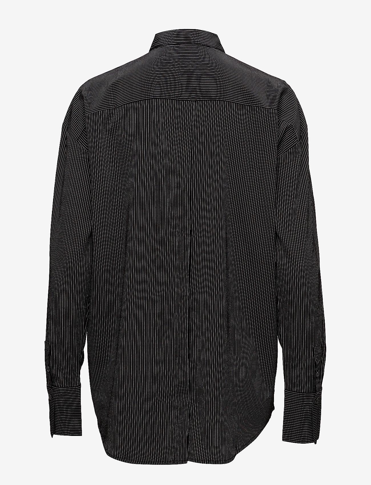 J. Lindeberg Nicole Stretch Silk - Blouses & Shirts BLACK