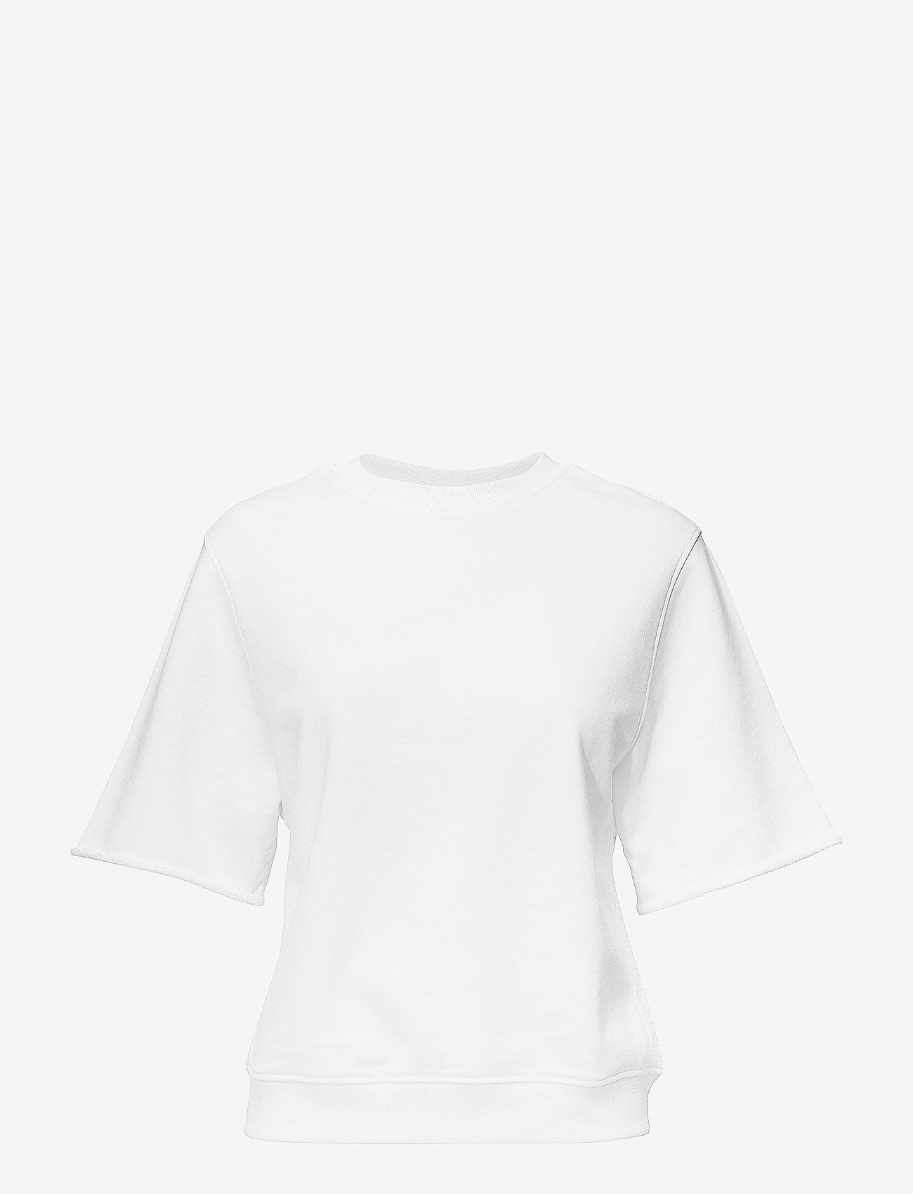 J. Lindeberg - Rubina Stitched Sweat - sweatshirts - white - 0