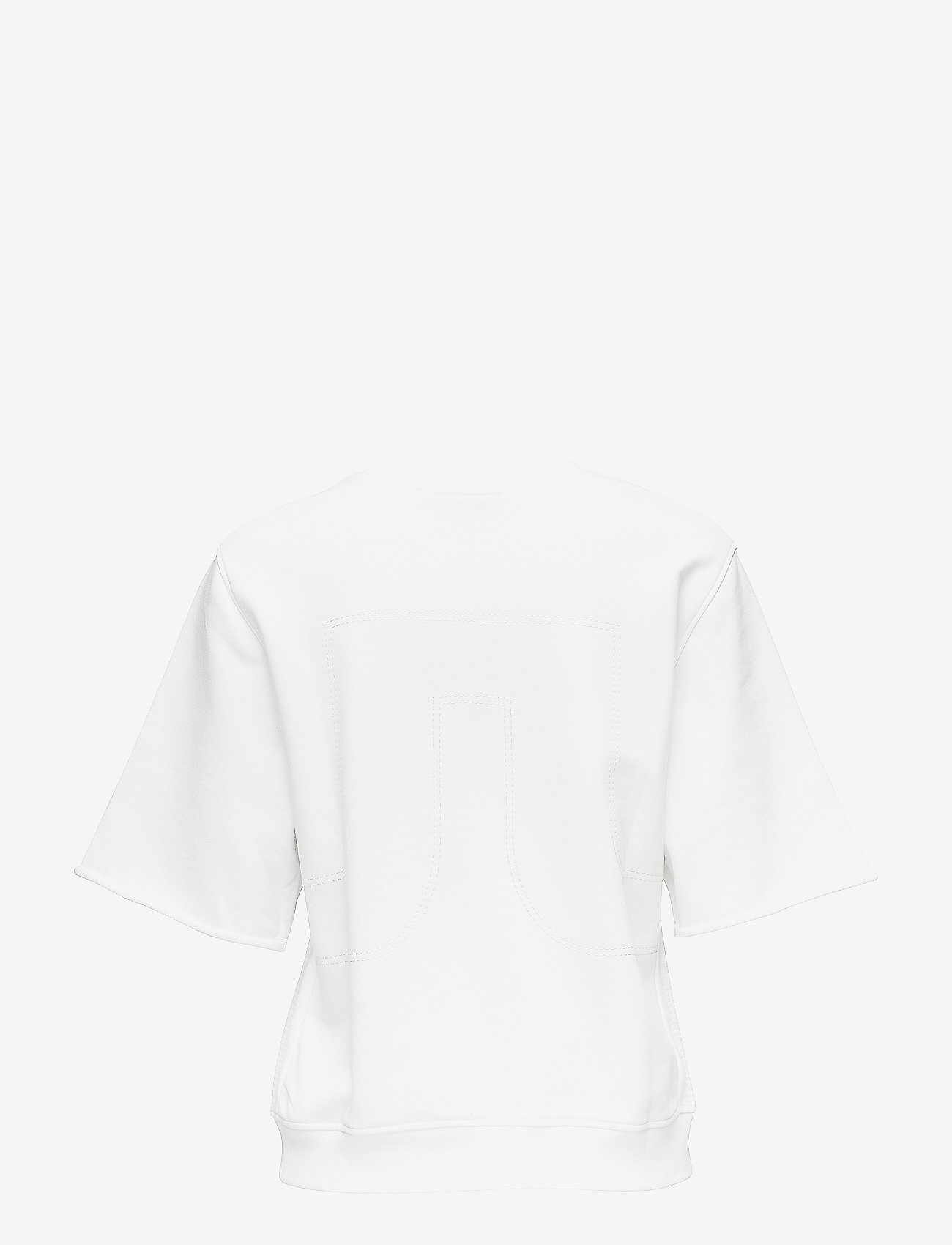J. Lindeberg - Rubina Stitched Sweat - sweatshirts - white - 1