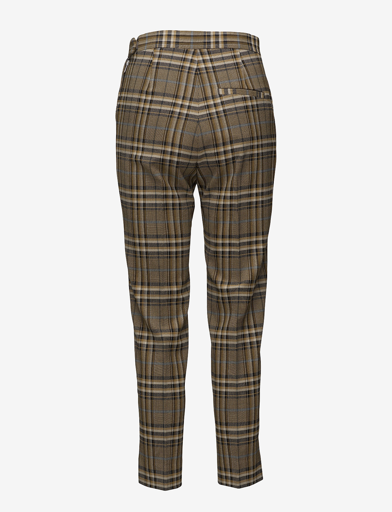 J. Lindeberg Mandalay Soft Check - Trousers BURRO
