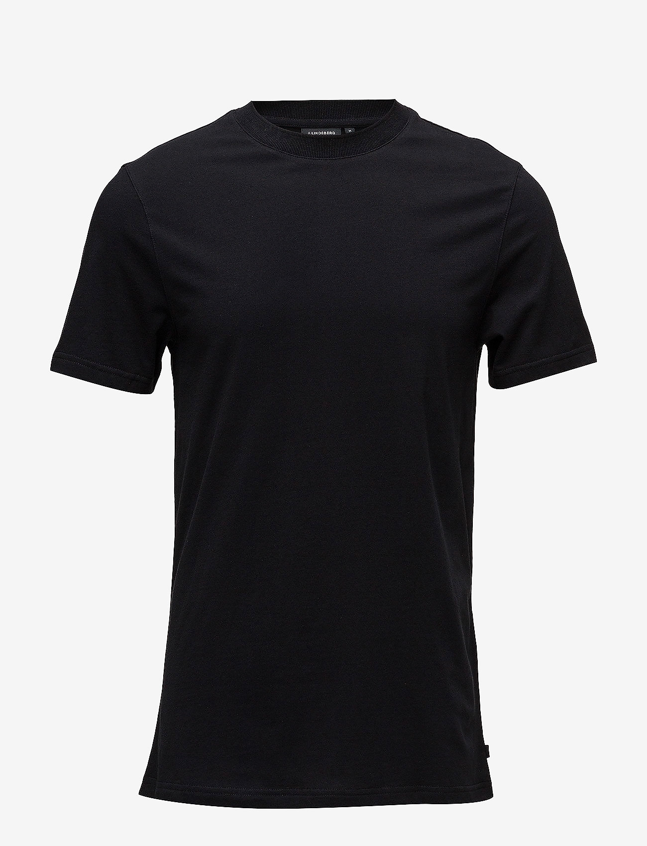 J. Lindeberg - Silo Jersey Tee - basic t-shirts - black - 1