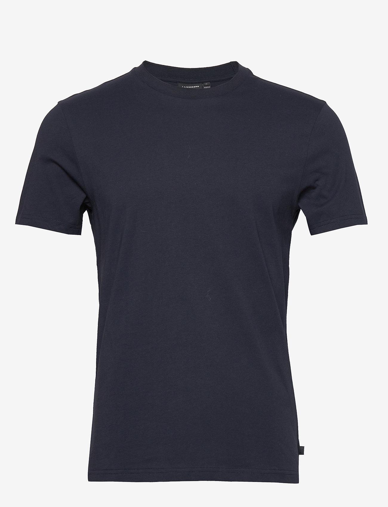 J. Lindeberg - Silo Jersey Tee - basic t-shirts - jl navy - 0