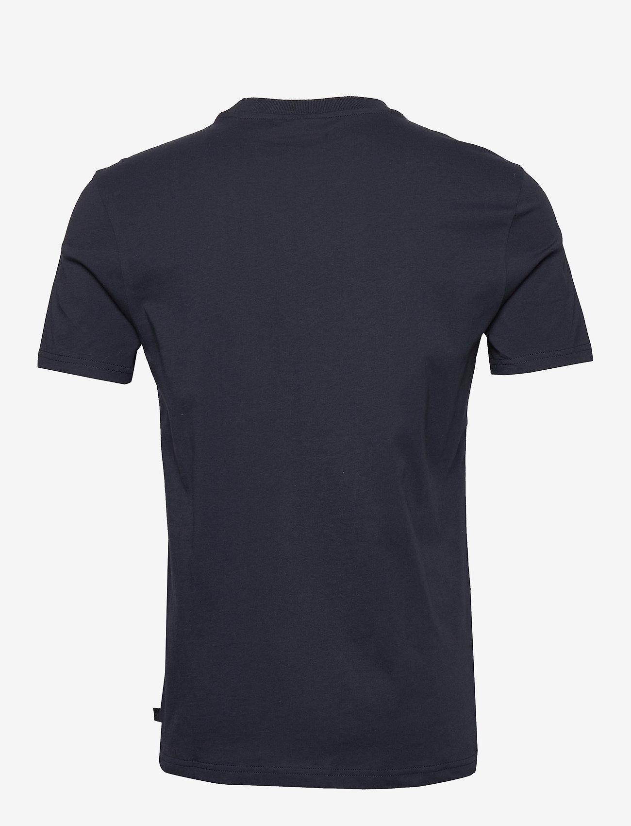 J. Lindeberg - Silo Jersey Tee - basic t-shirts - jl navy - 1