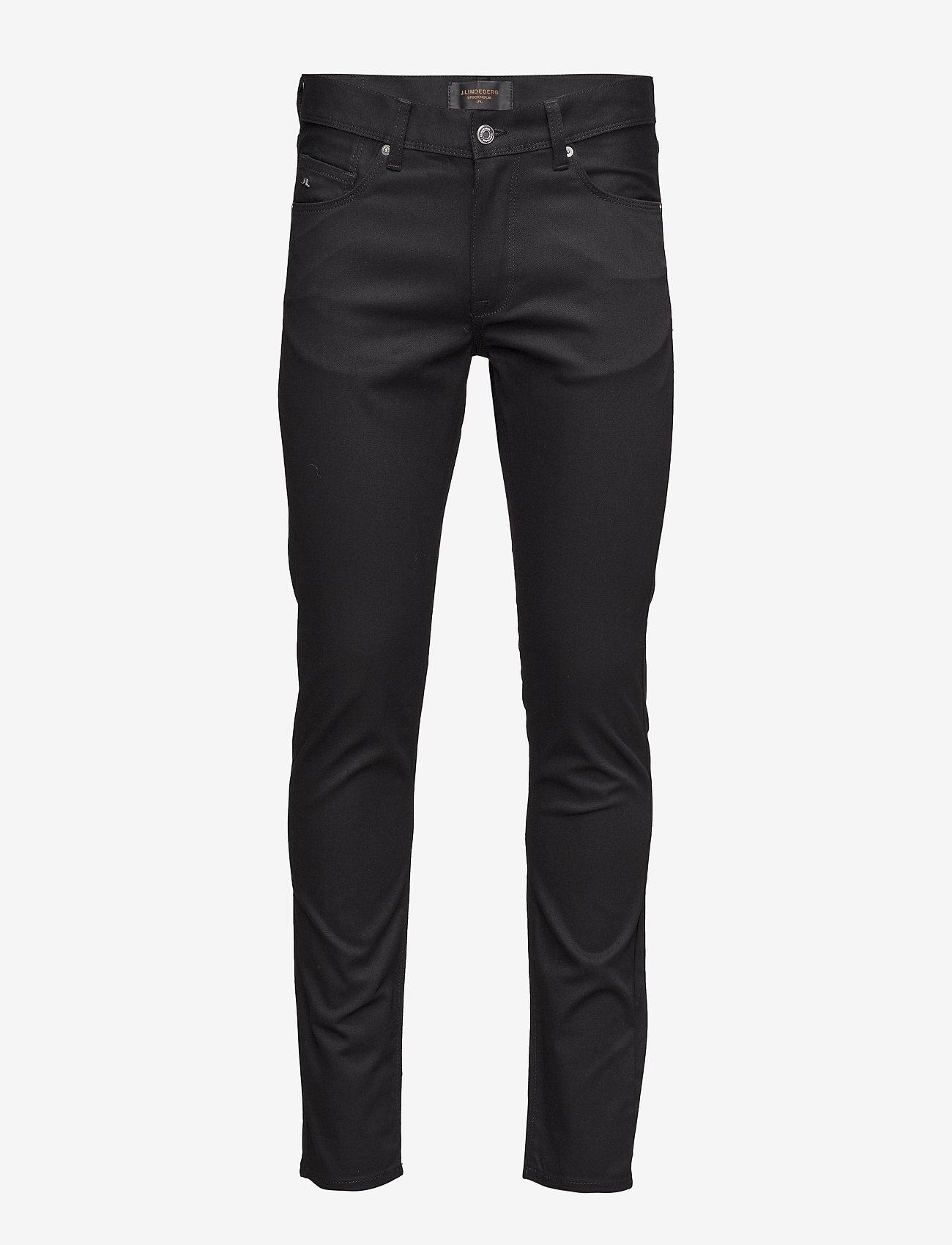 J. Lindeberg - Damien Black Stretch Denim - skinny jeans - black - 1