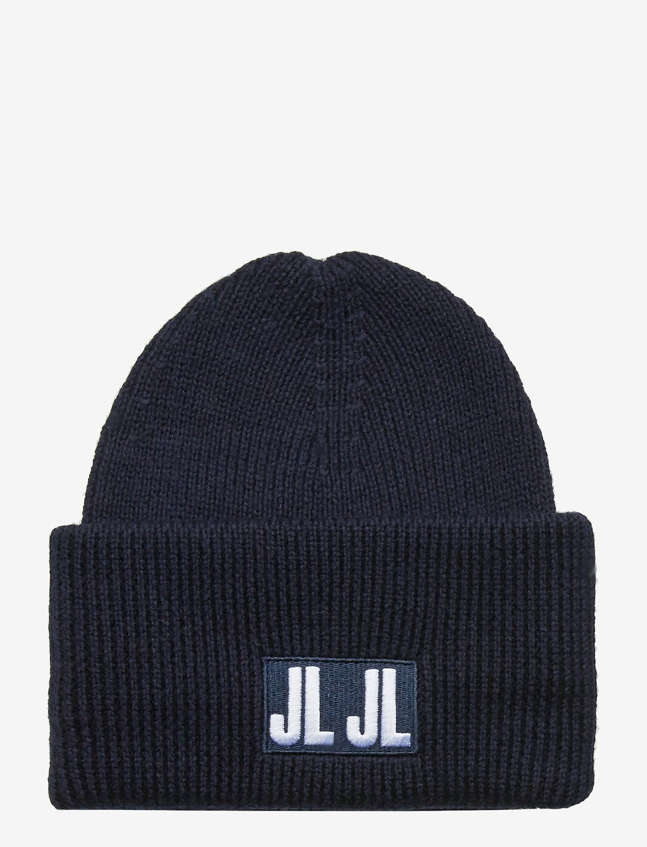 J. Lindeberg - Jive Beanie-Spongy Wool - pipot - jl navy - 0