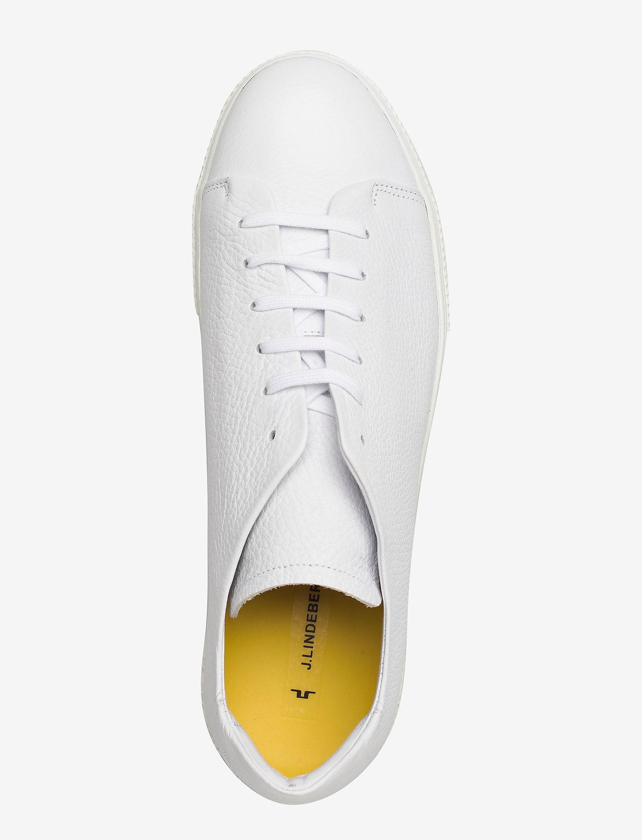 Sneaker Lt Clean-leather Grain (White) - J. Lindeberg