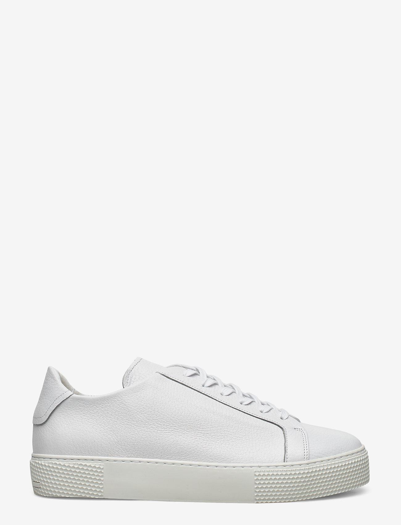 J. Lindeberg - Signature Leather Sneaker - niedriger schnitt - white - 1