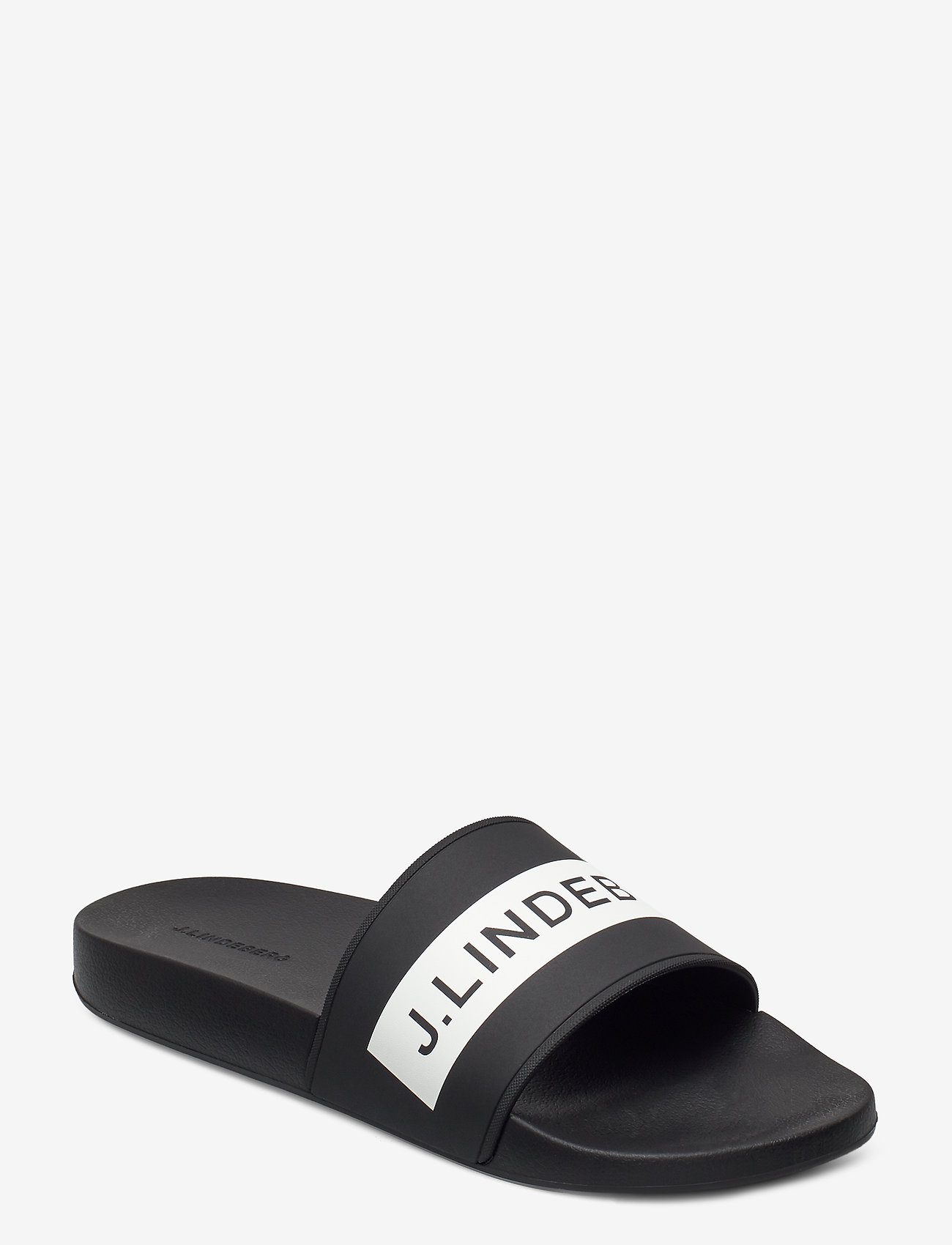 J. Lindeberg - Casual Summer Slide - pool sliders - black - 0