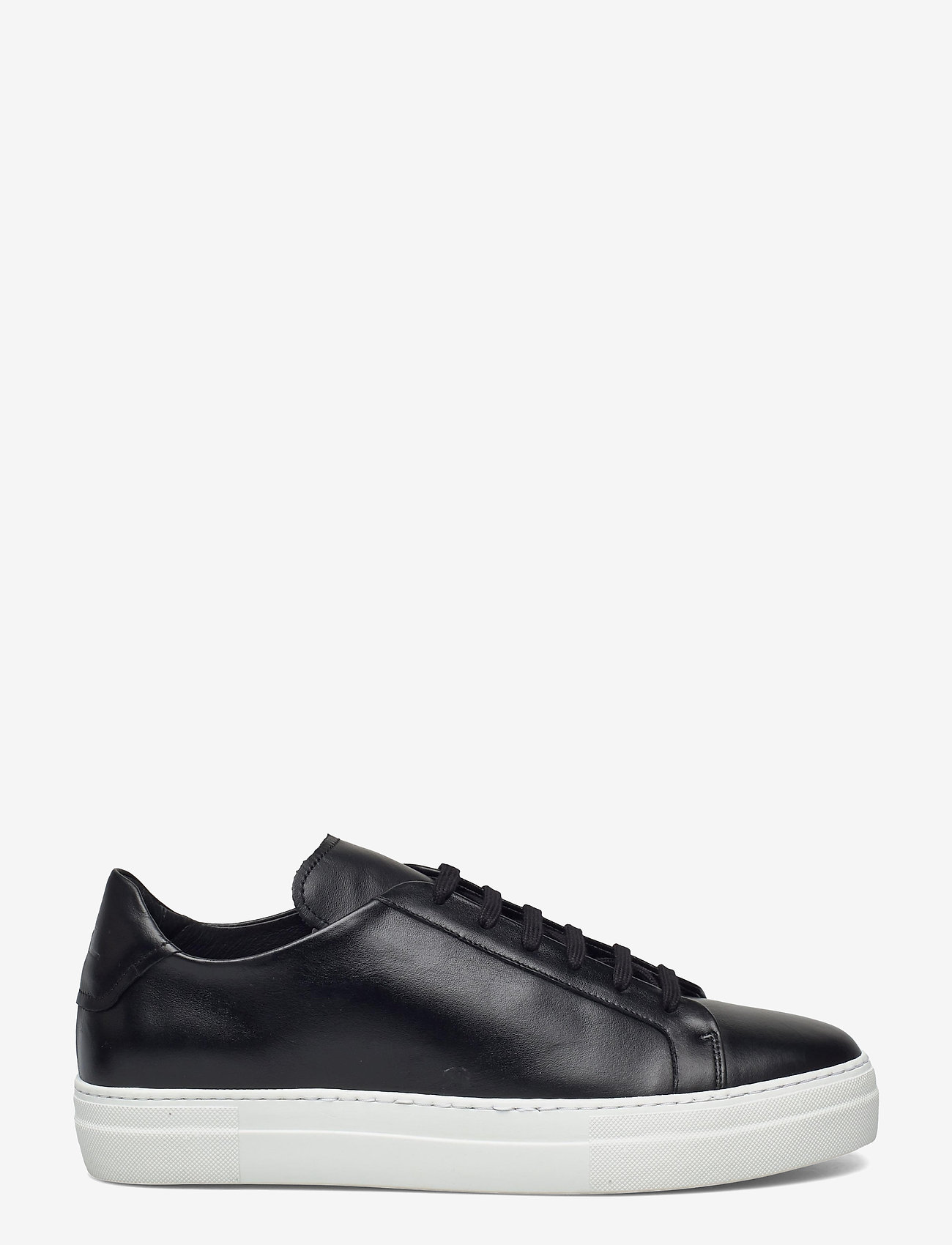 J. Lindeberg - Signature Leather Sneaker - niedriger schnitt - black - 1