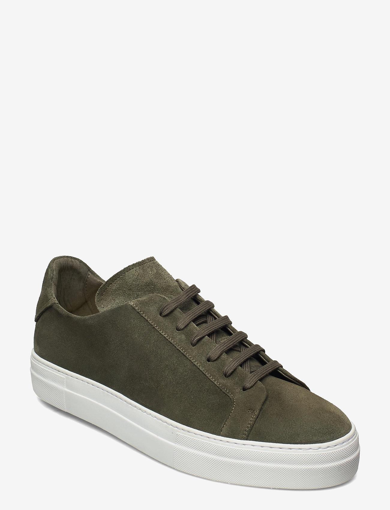 J. Lindeberg - Signature Suede Sneaker - niedriger schnitt - lake green - 0